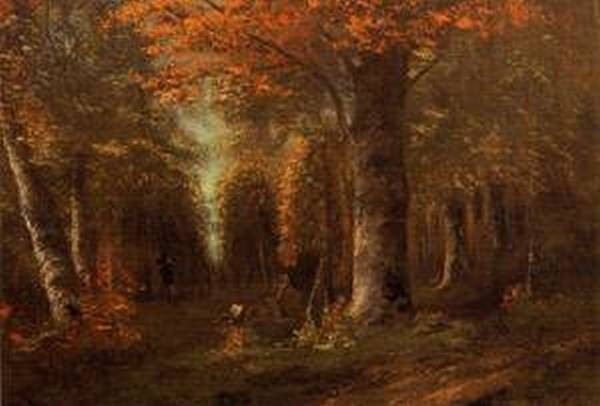 The Forest in Autumn 1841